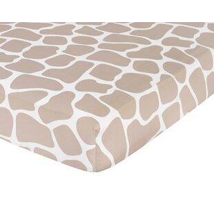 Giraffe Fitted Crib Sheet BySweet Jojo Designs