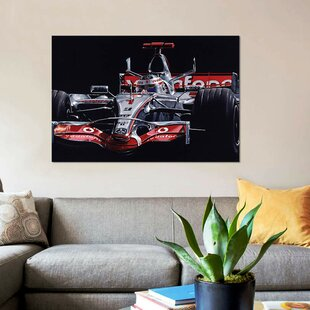 'Alonso' Graphic Art Print on Canvas By East Urban Home