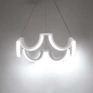 Marin 1-Light LED Geometric Chandelier by Modern Forms