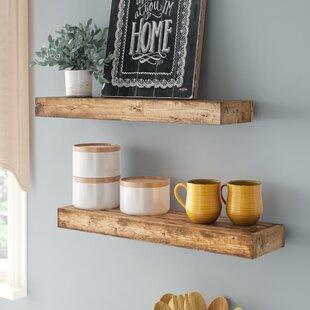 Aoife Artisan Haute Wall Shelf (Set of 2)