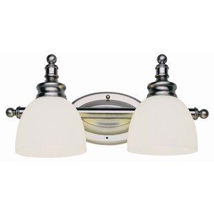 Bunce 2-Light Vanity Light by Charlton Home
