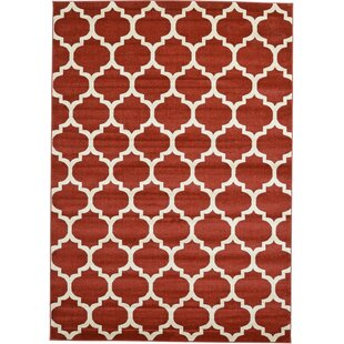 Low priced Brooklyn Cobble Hill Red/Ivory Area Rug By Rugs America