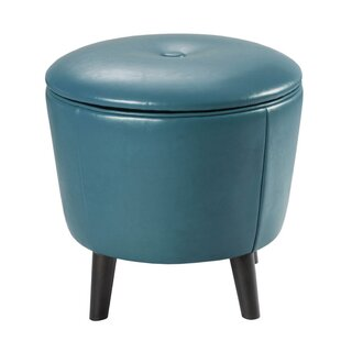 Deangelo Tufted Storage Ottoman by Mistana