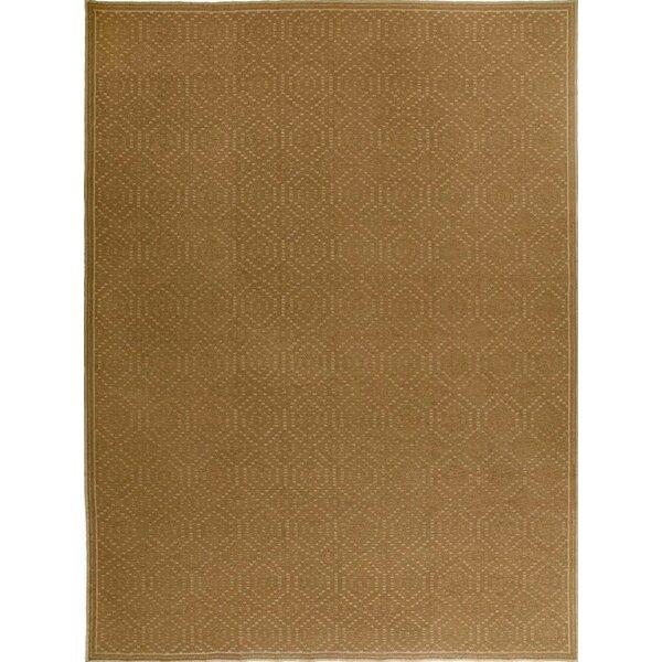 Bokara Rug Co Inc One Of A Kind Hand Knotted Brown 8 X 10 Wool Area Rug Wayfair