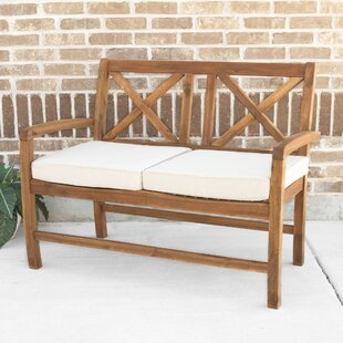 Purchase X Back Patio Loveseat with Cushions By Birch Lane™
