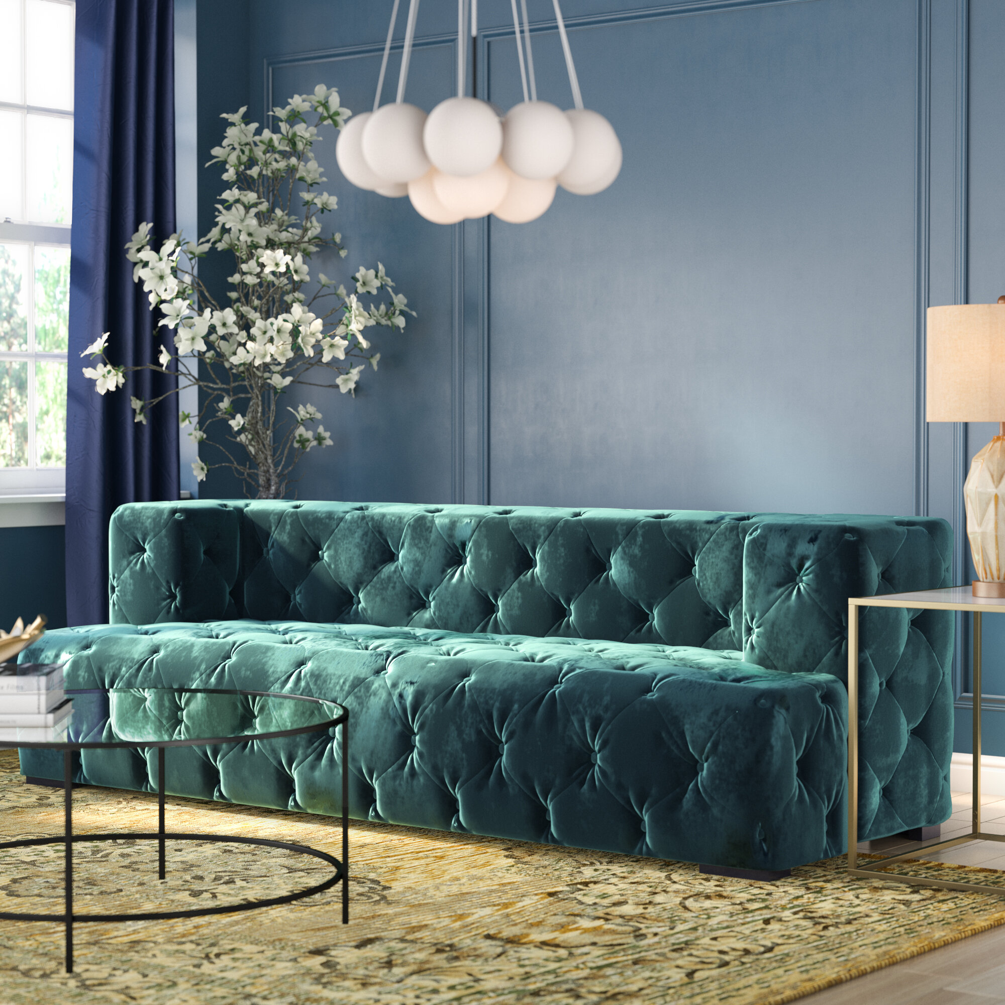Willa Arlo Interiors Jasper Chesterfield Sofa Reviews Wayfair