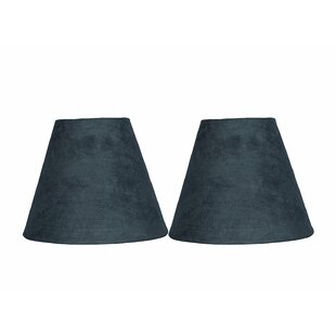 Compare 6 Suede Empire Candelabra Shade (Set of 2) By Ebern Designs