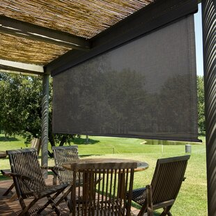 Heavy Duty Semi-Sheer Outdoor Roller Shade by Keystone Fabrics