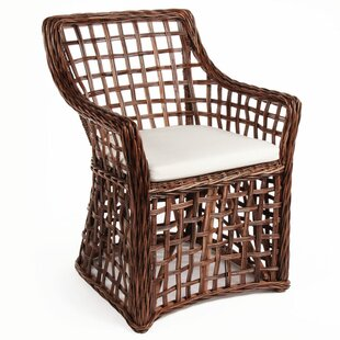 Bay Isle Home Portsmouth Open Weave Arm C..