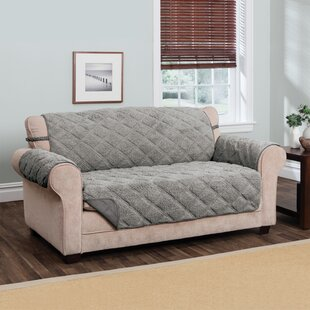 Sherpa Waterproof Sofa Slipcover by Winston Porter