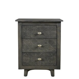 Endsley 3 Drawer Nightstand