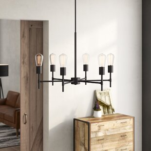 Williston Forge Sherri 6-Light Chandelier