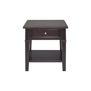 Eaton End Table with Storage