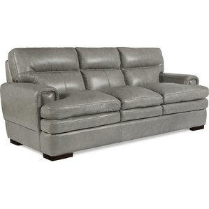 Jake Genuine Leather Sofa by La-Z-Boy