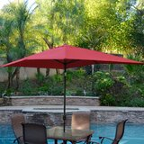 Norah 10 X 6.5 Rectangular Market Umbrella