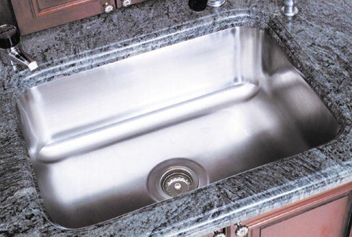 "A-Line by Advance Tabco 11.5"" L X 11.5"" W Single Bowl Undermount Kitchen Sink"