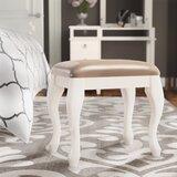 Bruna Vanity Stool by House of Hampton®