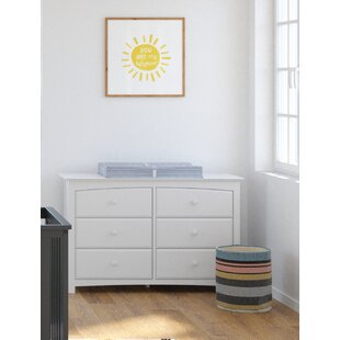 Read Reviews Kenton 6 Drawer Double Dresser By Storkcraft