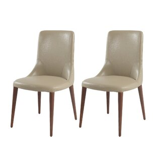 Colbert Upholstered Dining Chair (Set Of 2) by Wrought Studio Best #1