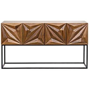 Noir Zurich Console Table