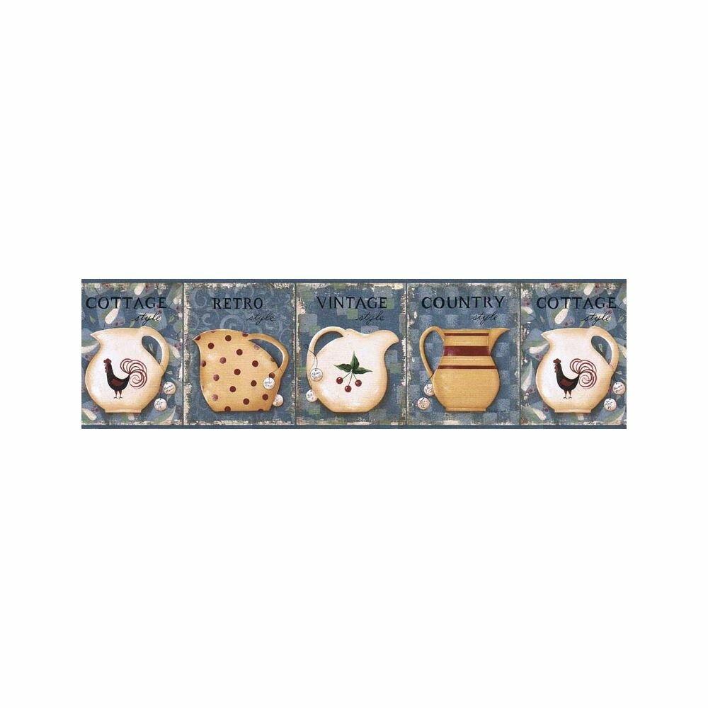 August Grove Seabridge Kitchen 15 L X 6 88 W Wallpaper Border