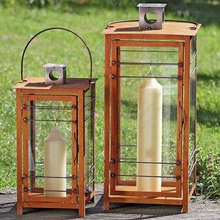 Ancona 2-Piece Lantern Set by Home Etc