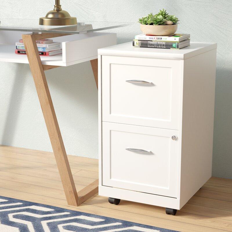 Captivating Gigi 2 Drawer Mobile Filing Cabinet