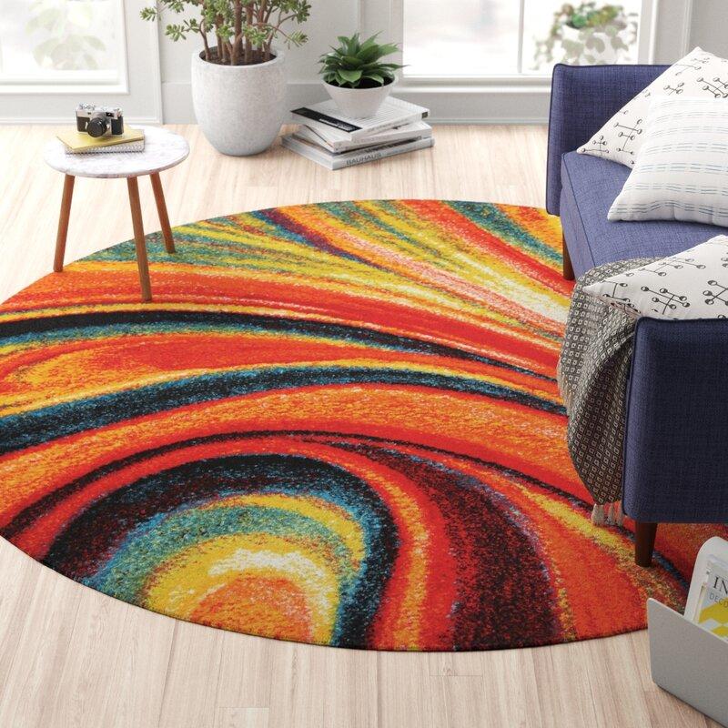 Zipcode Design Peyton Abstract Multi Colored Area Rug