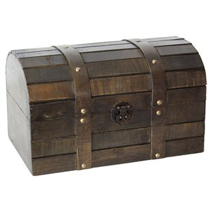 World Menagerie Layden Old Style Barn Wood Trunk