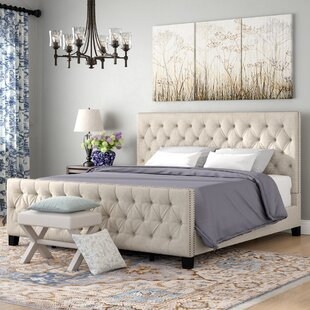 Comparison Allison Upholstered Panel Bed by Three Posts Reviews (2019) & Buyer's Guide