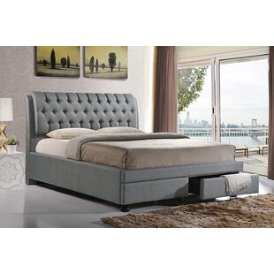 Letchworth Upholstered Platform Bed by Everly Quinn 2019 Coupon