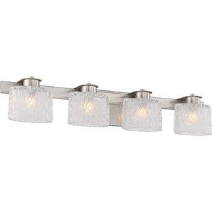 Compare prices Glendale 4-Light Vanity light By Latitude Run