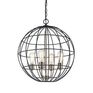Burress 4-Light Globe Chan..