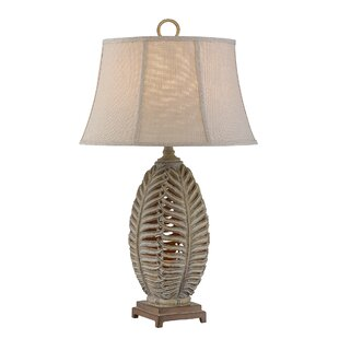 Marcella Open Leaf 33 Table Lamp