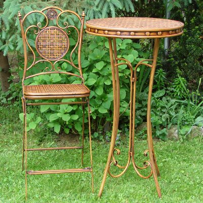 Royst 3 Piece Bistro Set by World Menagerie Read Reviews