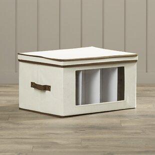 Price Check Canvas Tall Window Storage Box By Rebrilliant