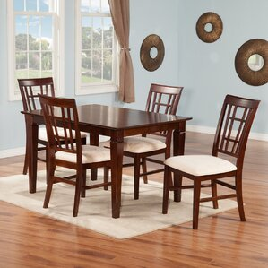 Bluffview 5 Piece Dining Set by Darby Home Co