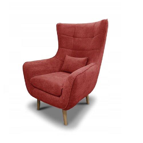 Ryanne Wingback Chair Rosalind Wheeler Upholstery Colour: