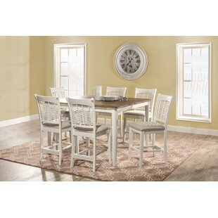 Abud Bayberry 7 Piece Counter Height Dining Set by August Grove