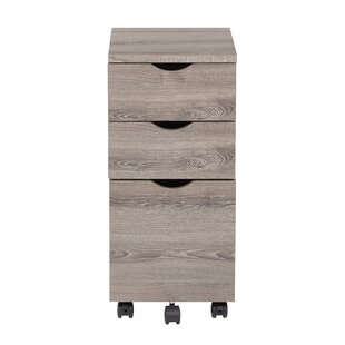 OSP Designs Lois 3 Drawer Mobile File Cabinet