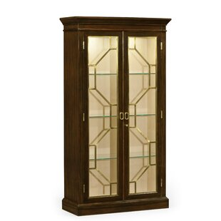Octavia Two-Door Lighted Curio Cabinet