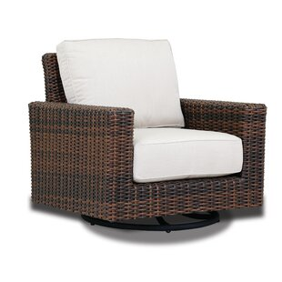 Montecito Swivel Rocker Patio Chair with Sunbrella Cushions by Sunset West