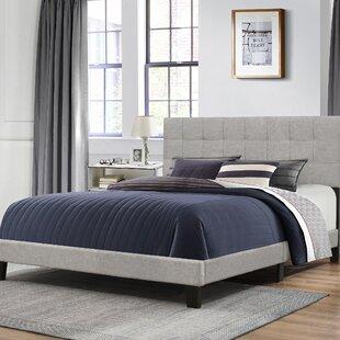 Ebern Designs Decker Upholstered Panel Bed