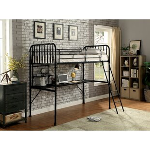 Evart Workstation Twin Loft Bed