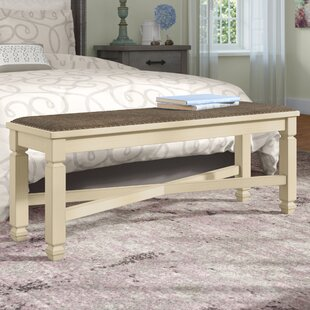 Alsace Wood Bench by Lark Manor