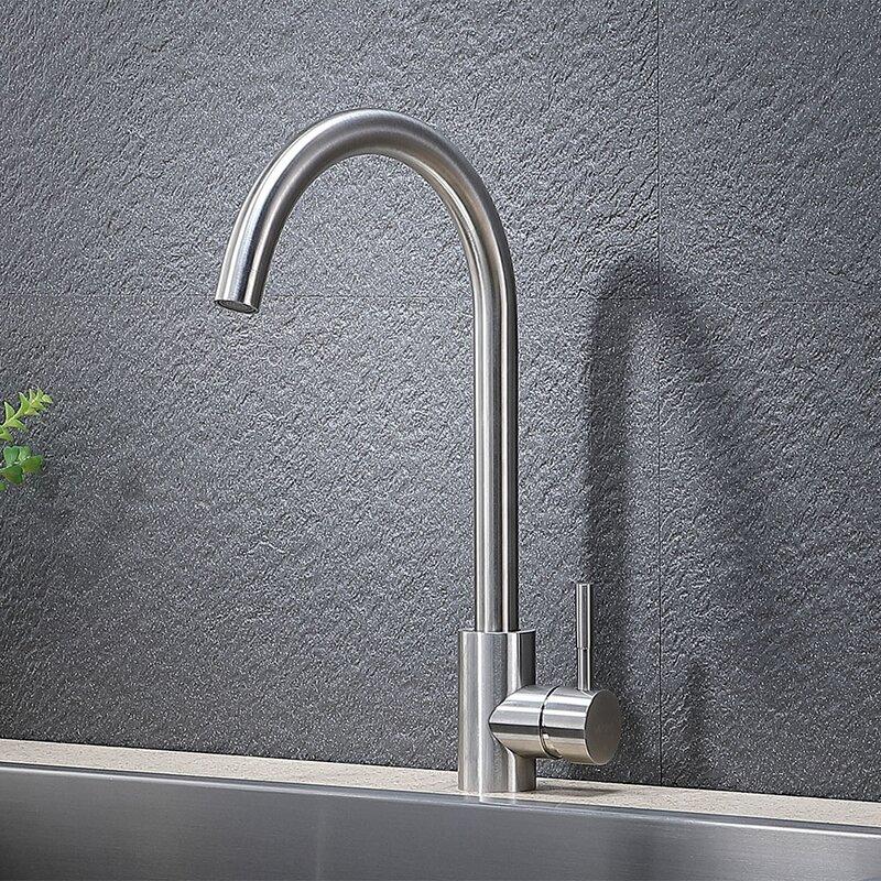 Vapsint Single Handle Kitchen Faucet Wayfair