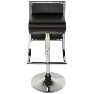 Napoli Adjustable Height Swivel Bar Stool..