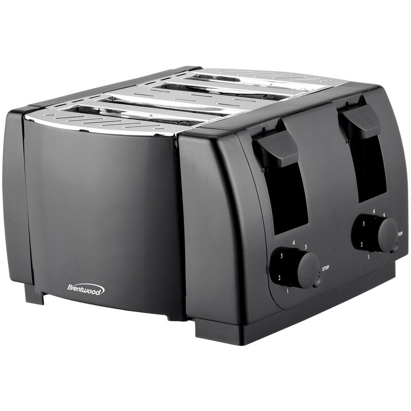 Brentwood 4 Slice Cool Touch Toaster