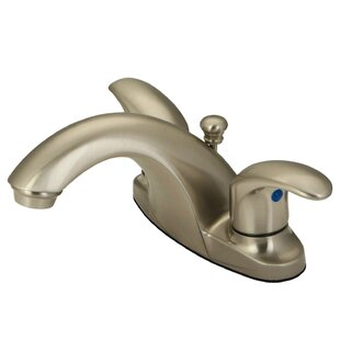 Kingston Brass Centerset Bathroom Faucet with Drain Assembly Image
