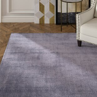 Wald Hand Knotted Lavender Aura Area Rug